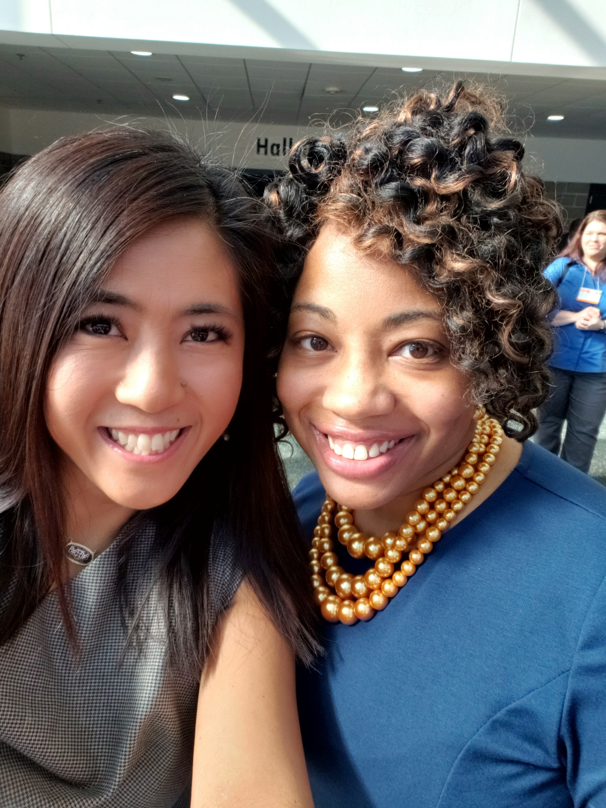 2021 Co-Chairs, Joyce Dieter (left) and Angela Arrington (right)